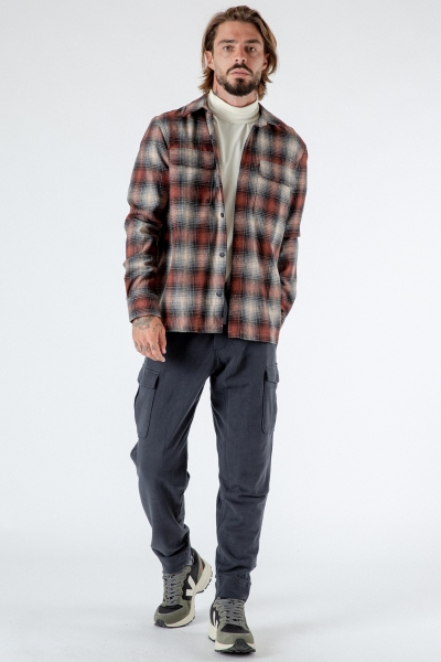 Recyceltes Overshirt Sten Check