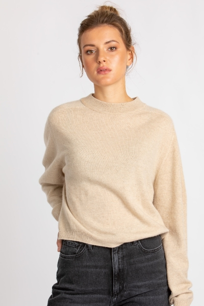 Pullover aus recyceltem Cashmere