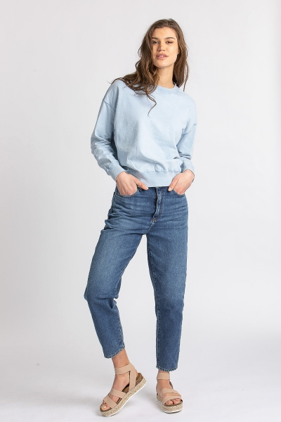 Jeans Mairaa aus Organic Cotton deep ink