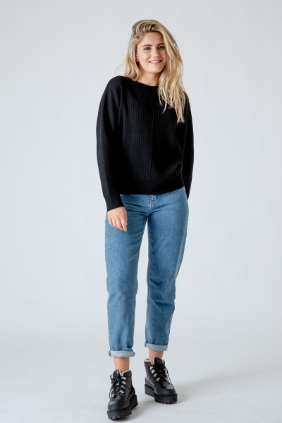 Mom Fit Jeans Stormy aus Organic Cotton